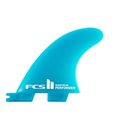 FCS2 Performer 2 rear Fin Neo Glass Small