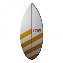 Skimboard striped orange