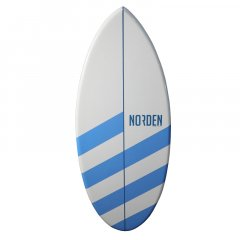 Skimboard striped blue