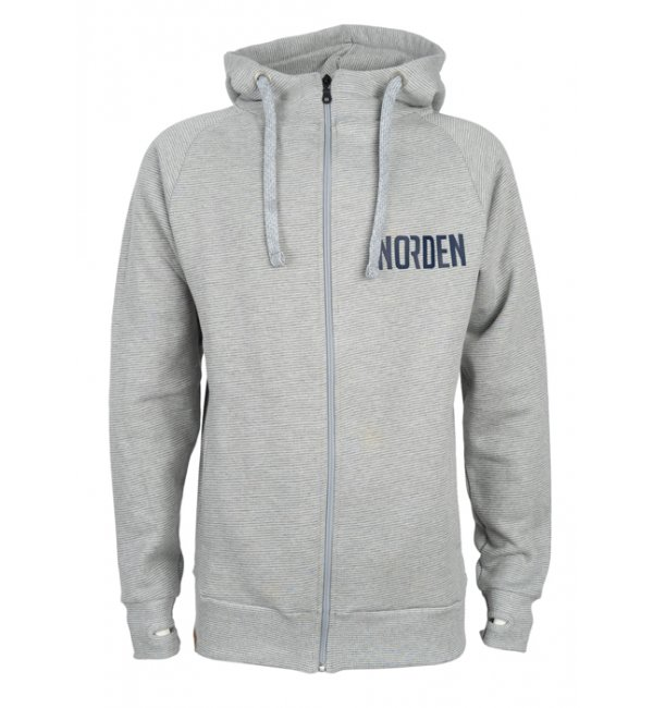 Hooded Deluxe Jacket 21 striped heather