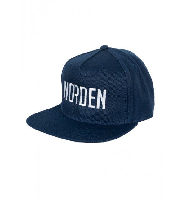 Cap logo modern navy one size